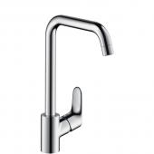 Hansgrohe Focus S - Einhebel-Küchenmischer für offene Warmwasserbereiter