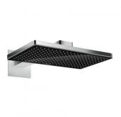 Hansgrohe Rainmaker Select - Kopfbrause 460 1jet schwarz / chrom mit Brausearm 450 mm