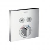 Hansgrohe ShowerSelect - Mischer Unterputz für 2 Verbraucher chrom