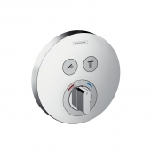 Hansgrohe ShowerSelect S - Unterputz-Mischer für 2 Verbraucher chrom