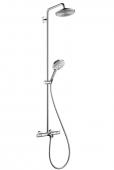 Hansgrohe Raindance - Showerpipe Select Wanne chr.Kopfbrause Air 1jet 240mm