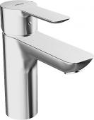 HANSA HansaLigna - Miscelatore monocomando per lavabo Taglia S con scarico a saltarello cromo