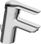 HANSA HansaVantis - Miscelatore monocomando per lavabo Taglia XS con scarico a saltarello cromo