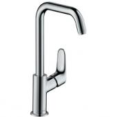 Hansgrohe Focus - Miscelatore monocomando per lavabo 240 senza scarico a saltarello cromo