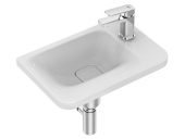 Ideal Standard Tonic II - Handwaschbecken 460 x 310 mm inkl. IdealFlow Ablage rechts weiß