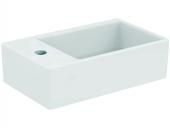 Ideal Standard Strada - Lavamani 450x270mm con 1 foro per rubinetto a sinistra senza troppopieno bianco con IdealPlus