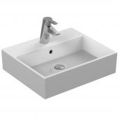 Ideal Standard Strada - Lavabo per mobile 500x420mm con 1 foro per rubinetto con troppopieno bianco con IdealPlus