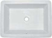 Ideal Standard Strada - Lavabo a incasso sottopiano 590x435mm senza fori per rubinetti con troppopieno bianco con IdealPlus