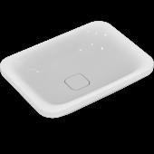 Ideal Standard Tonic II - Schale symmetrisch 550 x 400 x 150 mm weiß mit Ideal Plus