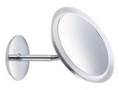 Keuco Bella Vista - Specchio cosmetico 3x magnification con illuminazione cromo