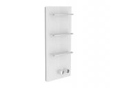 Keuco meTime_spa - Miscelatore termostatico a incasso per vasca/doccia per 1 utenza clear anthracite / chrome