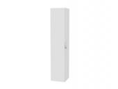 Keuco Edition 11 - Hochschrank mit Wäschekorb Lack hochglanz weiß