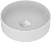 Ideal Standard Strada II - Aufsatzwaschtisch ohne Hahnloch ohne Überlauf 450 x 450 x 180 mm weiß