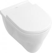 Villeroy & Boch O.novo - Vaso sospeso a fondo piatto senza DirectFlush bianco senza CeramicPlus