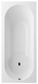 Villeroy & Boch Libra - Vasca da bagno 1800 x 800mm bianco alpino
