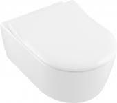 Villeroy & Boch Avento - WC-Sitz SlimSeat weiß alpin