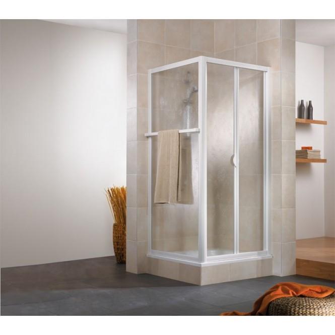 HSK - Folding door 2-piece, 54 Chinchilla 900 x 1850 mm, 95 standard colors