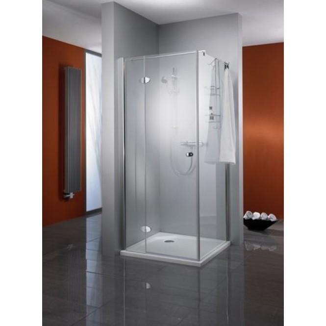 HSK Premium Classic - Pivot door for side panel, Premium Classic, 41 chrome-look 900 x 1850 mm, 100 Glasses art center