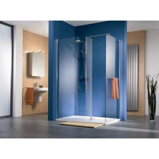 HSK - Sidewall, Walk In Premium 2, 52 gray custom-made, 41 chrome look