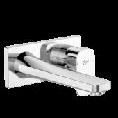 Ideal Standard Tonic II - Wand-Waschtischarmatur 193 x 83 mm Ausladung 225 mm chrom