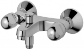 Ideal Standard Alpha - Exposed 2-handle Bathtub Mixer with Diverter crômio