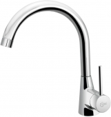Ideal Standard Nora - Single lever kitchen mixer with swivel spout crômio