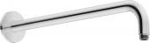 Duravit Universal - Brausearm gebogen L352 rund schwarz matt