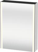 Duravit XSquare - SPS mit Beleuchtung 800x600x155 weiß Türanschlag rechts