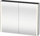 Duravit XSquare - Spiegelschrank mit Beleuchtung 800x1000x155mm weiß seidenmatt