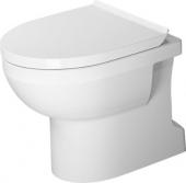 Duravit DuraStyle Basic - Stand-WC Basic 560mm rimless Tiefspüler Abgang senkrecht WonderGliss weiß