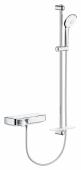 GROHE Grohtherm SmartControl - Aufputz-Duschthermostat für 1 Verbraucher und mit Brausegarnitur 900 mm chrom
