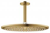 Grohe Rainshower Cosmopolitan - Kopfbrauseset 310 Deckenauslass 142 mm cool sunrise gebürstet