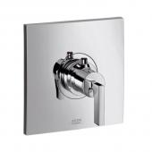 Hansgrohe Axor Citterio - 59 l / min Highflow Thermostat Unterputz mit Hebelgriff chrom