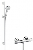Hansgrohe Crometta 100 - Vario Combi Set 0,90 m weiß / chrom