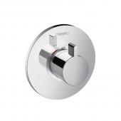 Hansgrohe Ecostat S - Thermostat Highflow 59 l / min Unterputz chrom
