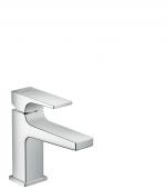 Hansgrohe Metropol - Waschtischmischer 100 chrom kurzer Auslauf mit Push-Open Ablaufgarnitur