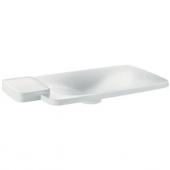 Hansgrohe Axor Bouroullec - Einbauwaschtisch 866 mm 1 Ablage weiß