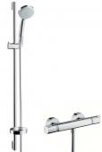 Hansgrohe Croma - Brausenkombi 100 Vario/Ecostat Comfort und UnicaC 900mm