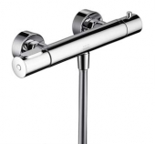 AXOR Citterio M - Exposed thermostatic shower mixer with 1 outlet crômio