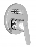 Ideal Standard VITO - Concealed single lever bathtub mixer for 2 outlets crômio