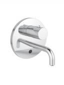 Ideal Standard CERAPLUS - Monocomando de lavatório para montagem na parede com comprimento da bica 150 mm without waste set crômio
