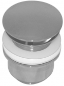 Ideal Standard Universal - Non-closable valve for washbasin without overflow crômio