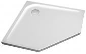 Ideal Standard Ultra Flat - Pentagonal shower tray 1000 mm