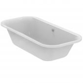 Ideal Standard Tonic II - Oval-Badewanne mit Ablauf und Füller 1900 x 900 x 480 mm weiß