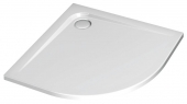 Ideal Standard Ultra Flat - Viertelkreis-Brausewanne 900 mm