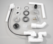 Ideal Standard Multiplex - Ab- und Überlaufgarnitur