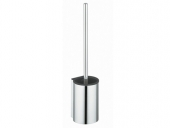 Keuco Plan - Toilet brush set silver anodised / black