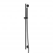 Steinberg Serie 100 S - Brausegarnitur 900 mm mit Mikrofonhandbrause schwarz
