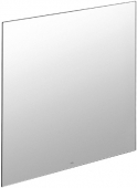 Villeroy & Boch MORE TO SEE - Mirror without lighting 900mm silver anodised / mirrored