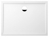 Villeroy & Boch Futurion Flat - Shower tray retangular 1200x800 branco without antislip
